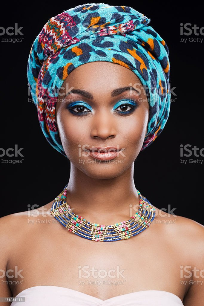 Her perfection in her style. stock photo