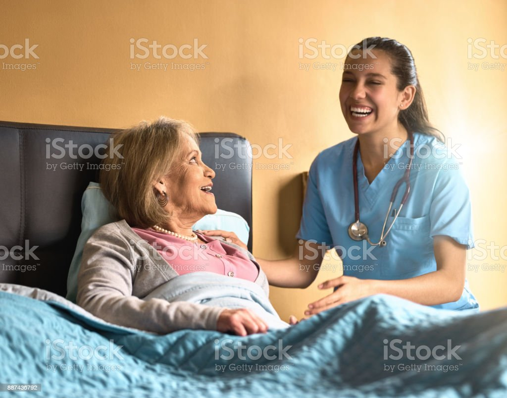 Her positivity is contagious stock photo