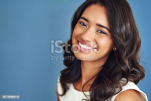 507896586istockphoto Her positivity will get her far 507896816