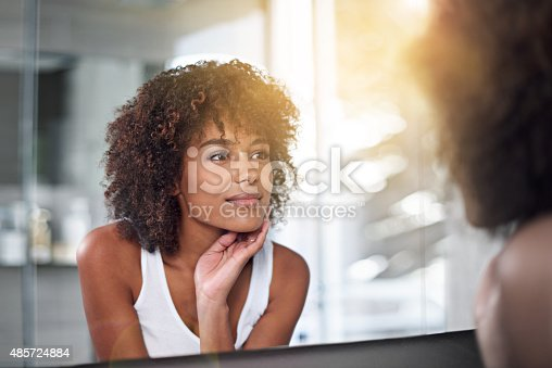 istock Her skin's as perfect as ever 485724884