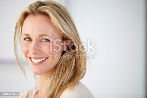 istock Her smile could brighten any room! 180742077