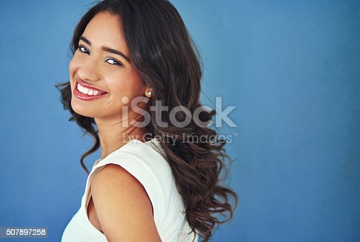 507896586istockphoto Her style stands out in the business world 507897258