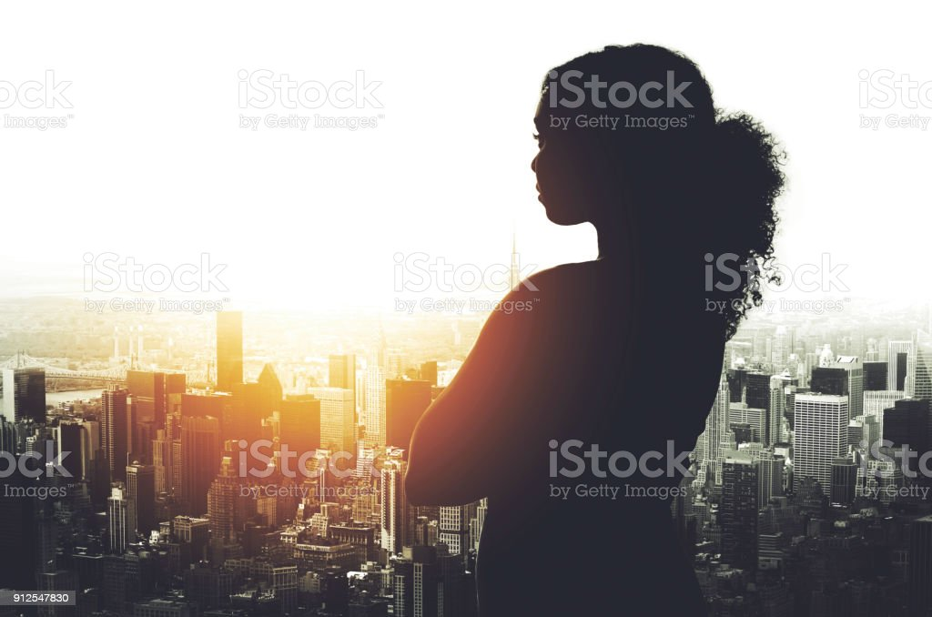 Her success has been shaped in this city stock photo