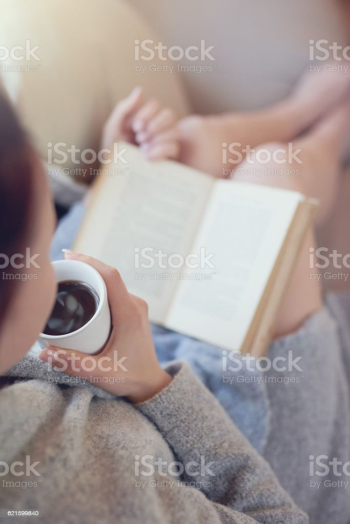 Her weekend is all booked stock photo