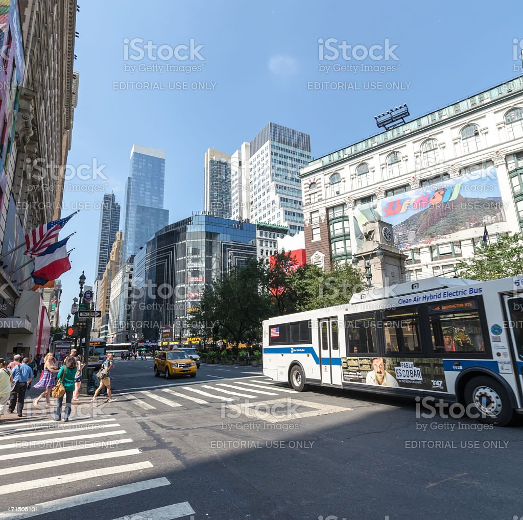 Herald Square royalty-free stock photo