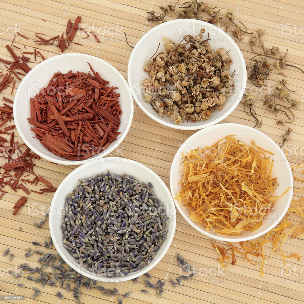 Herb and Spice Selection stock photo