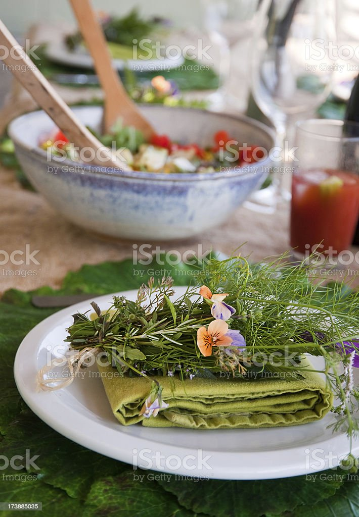 Herb Bouquet royalty-free stock photo