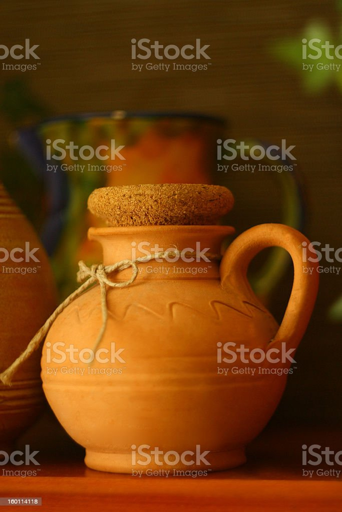 Herb container royalty-free stock photo