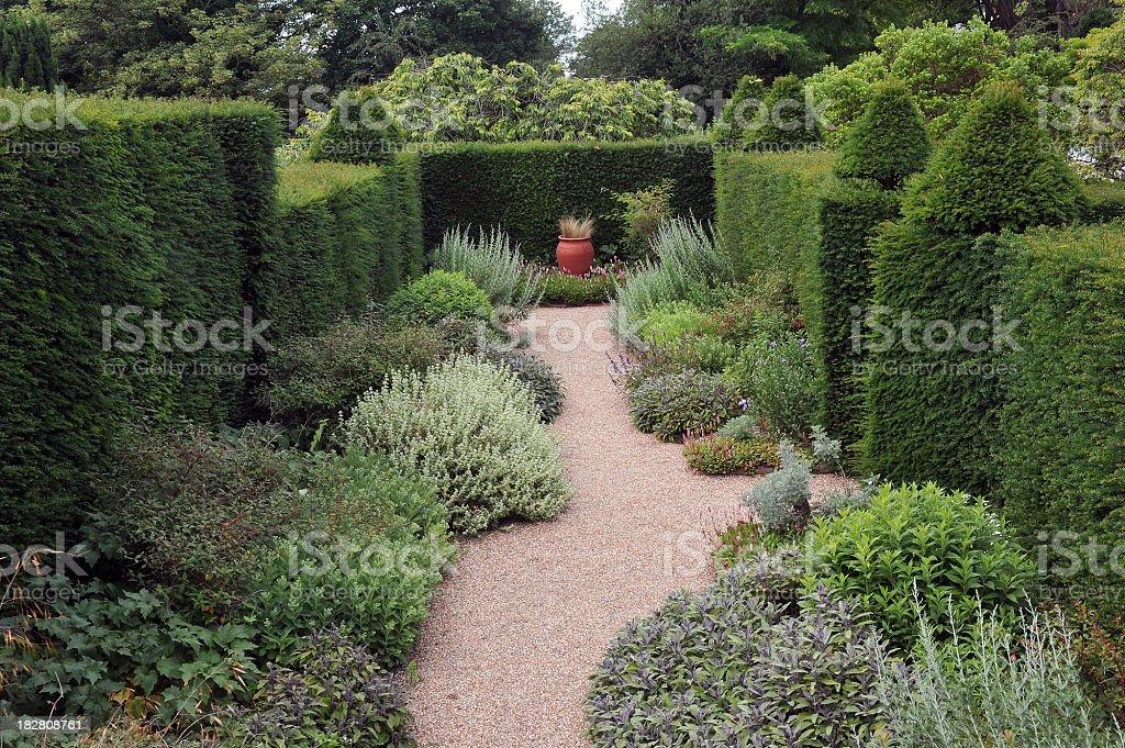 Herb Garden stock photo