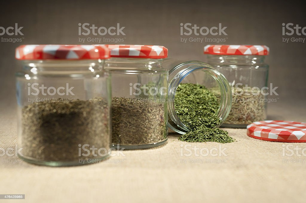 herb pot royalty-free stock photo