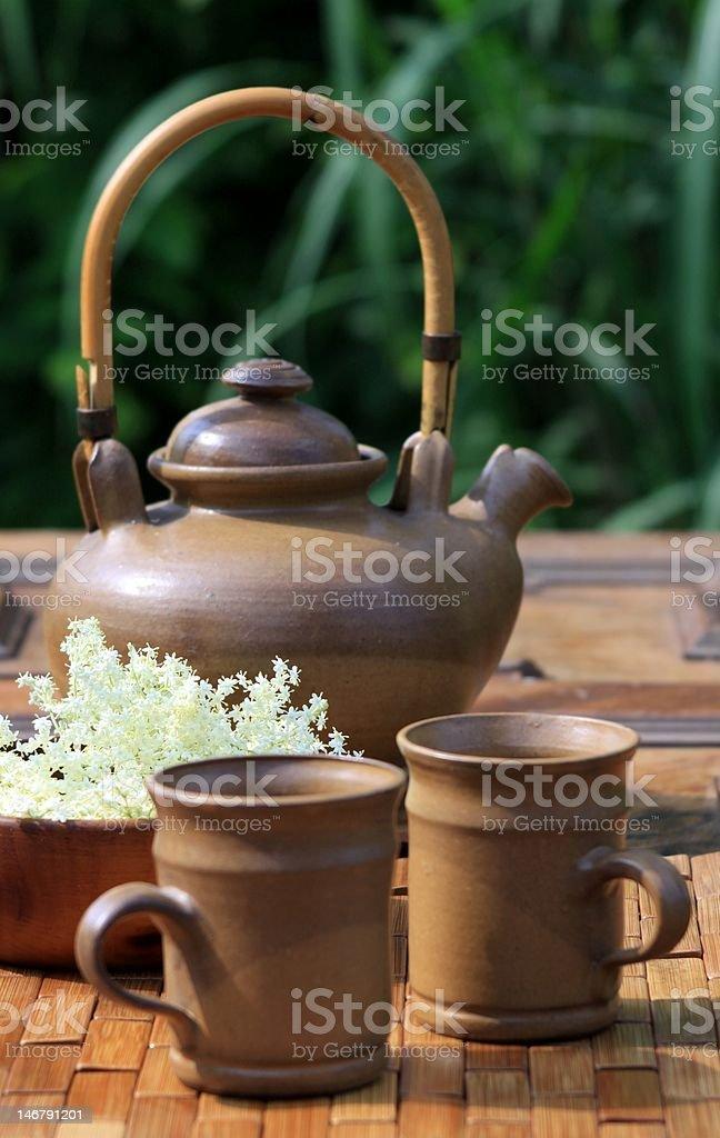 herb tea royalty-free stock photo