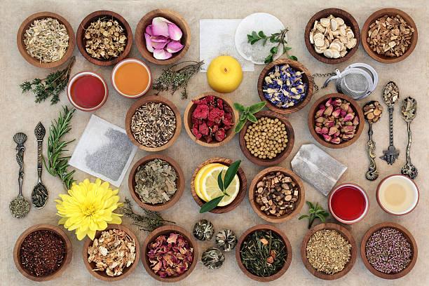 L'échantillonneur de thé aux herbes - Photo