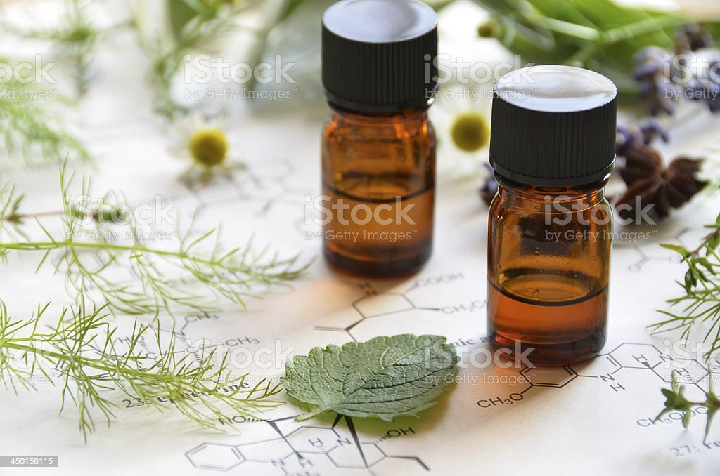 herbal apothecary stock photo