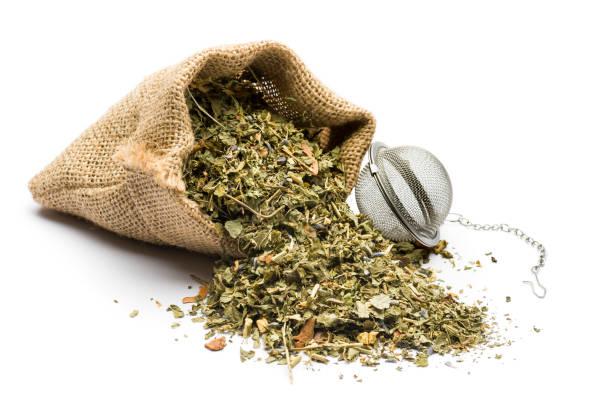 herbal blend for tea - herbata ziołowa zdjęcia i obrazy z banku zdjęć