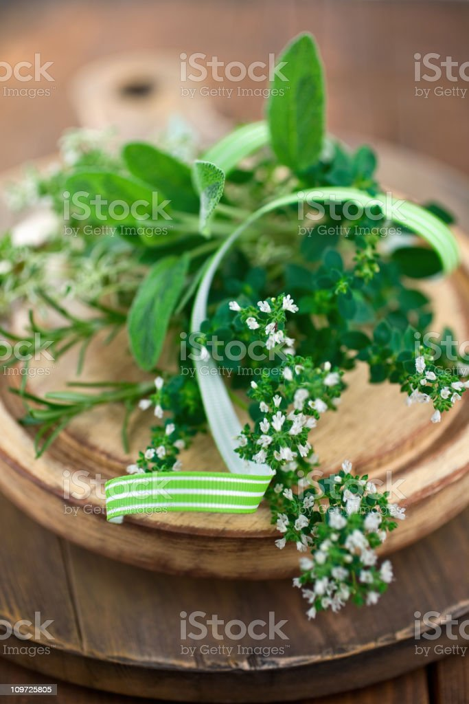 Herbal Bouquet royalty-free stock photo