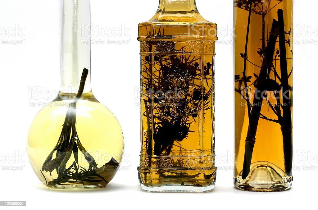 herbal brandy royalty-free stock photo