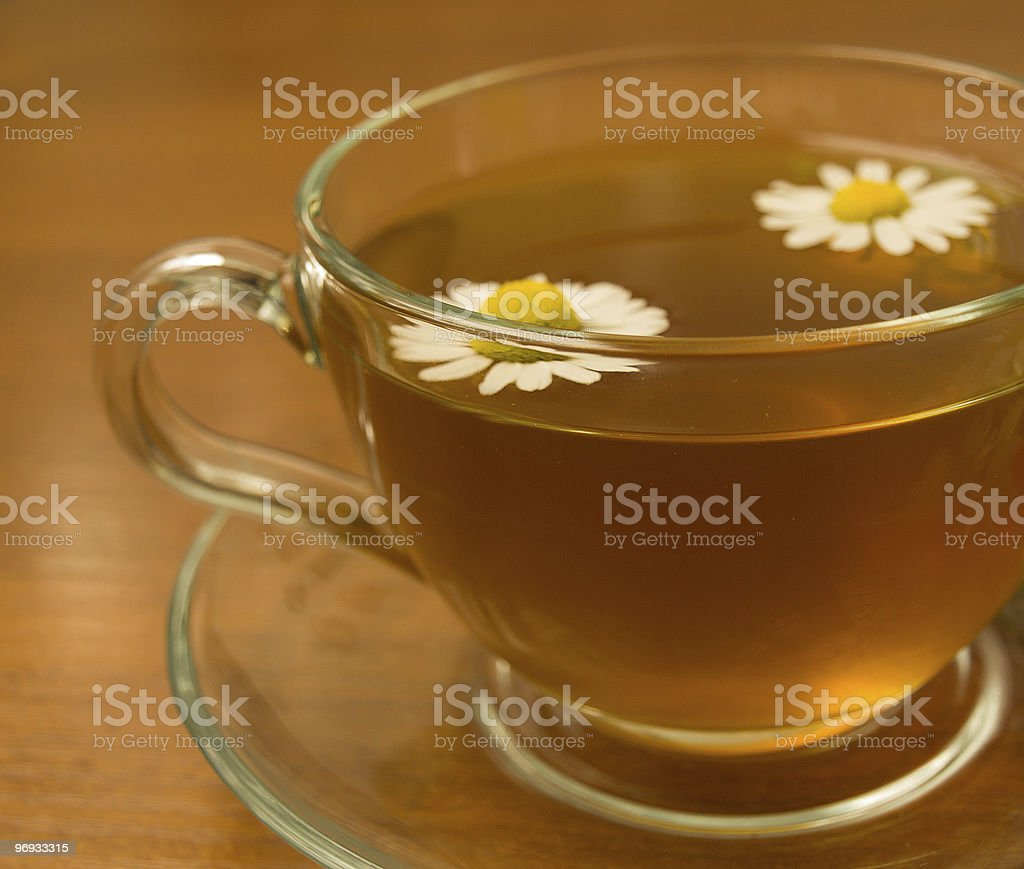 Herbal camomile tea royalty-free stock photo