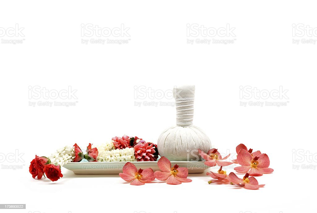 Herbal Compress royalty-free stock photo