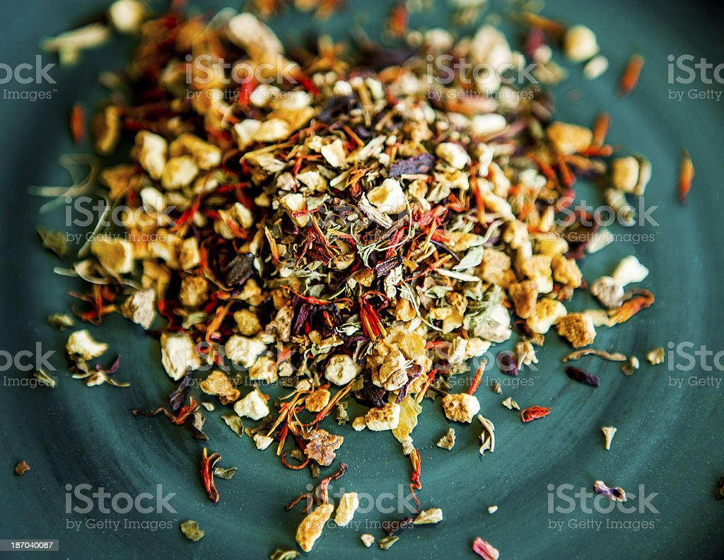 Herbal Dragonfruit Tea Blend royalty-free stock photo