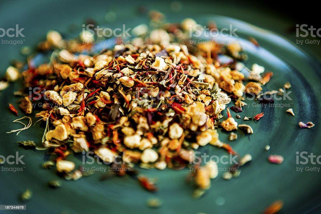 Herbal Dragonfruit Tea Blend royalty-free stock photo