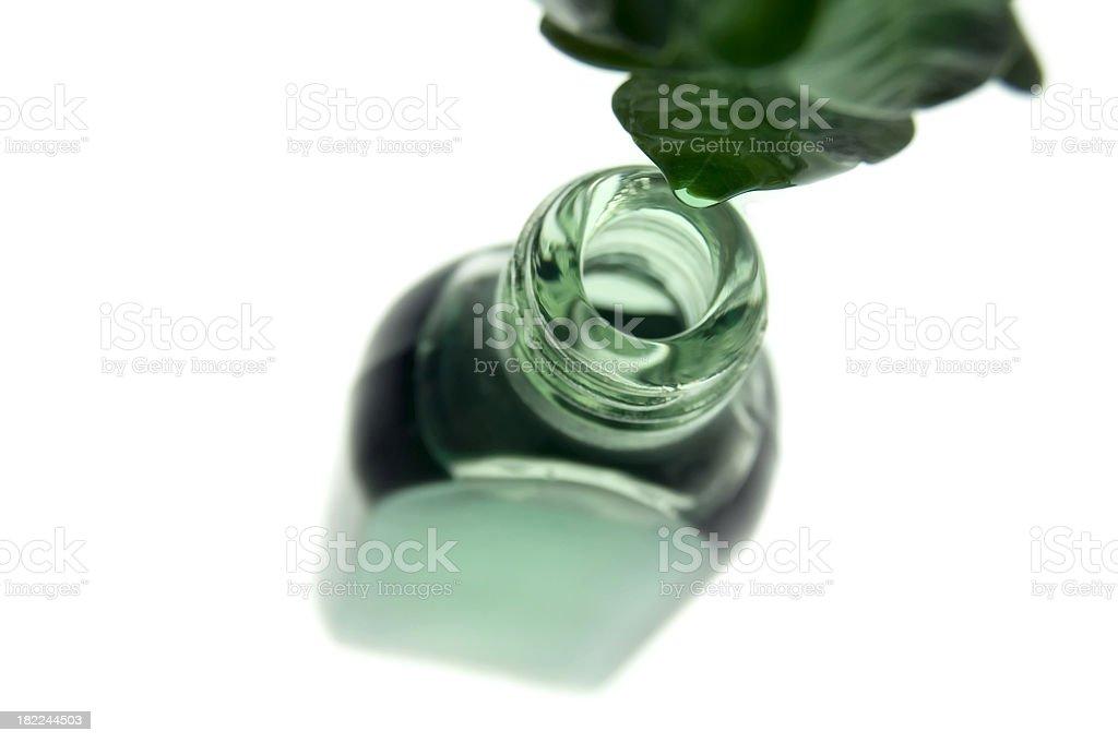 herbal drug stock photo
