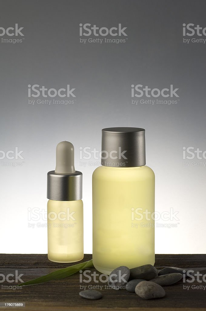 Herbal essential oil royalty-free stock photo