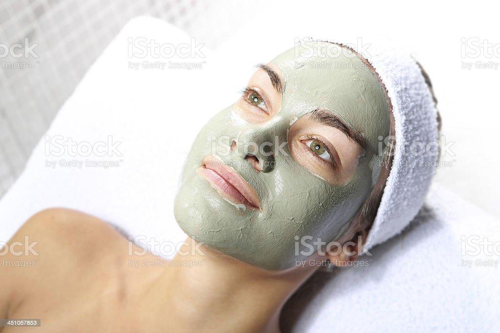 Masque aux extraits de plantes green - Photo