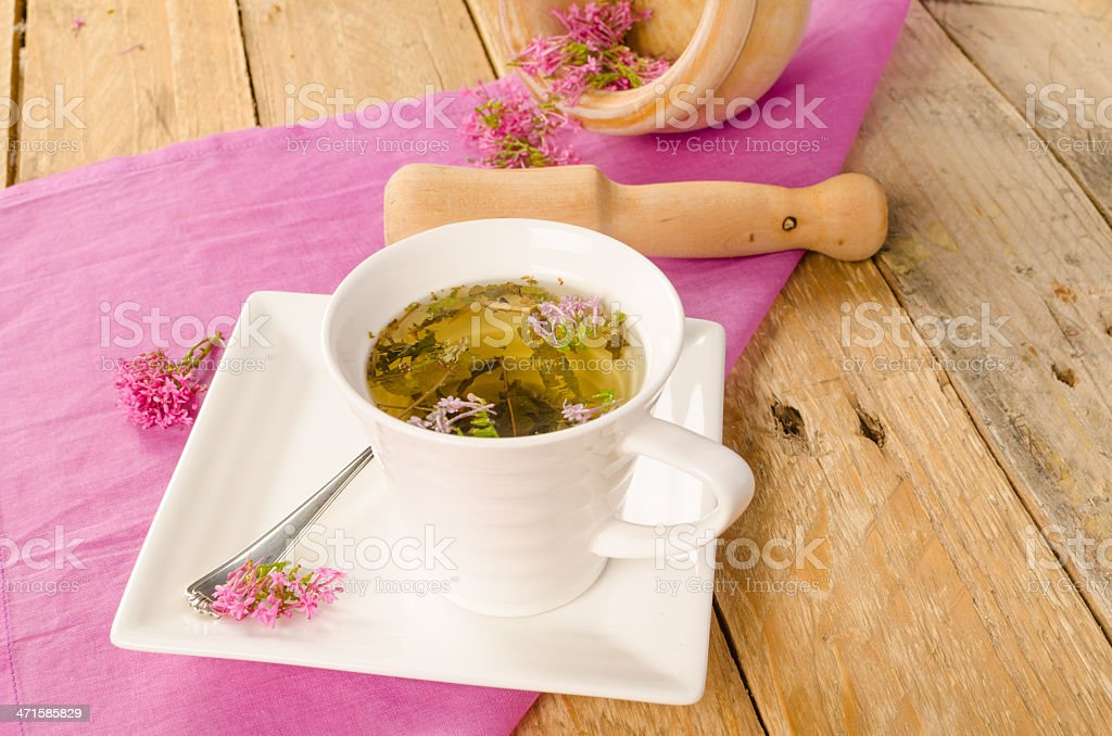 Herbal infusion stock photo