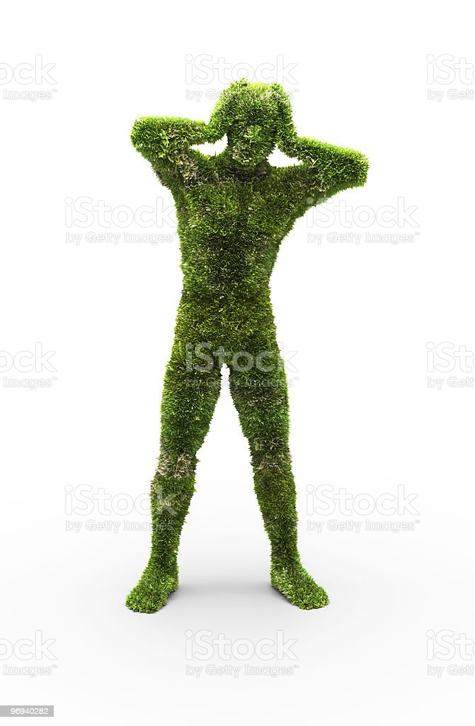 Herbal man royalty-free stock photo