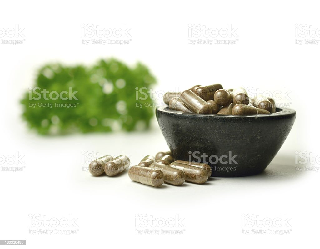 Herbal Medicine 2 royalty-free stock photo