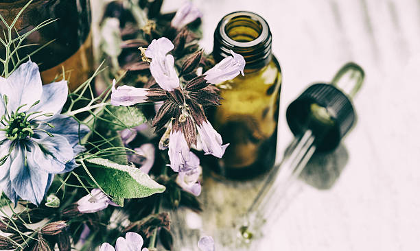 herbal medicine - holistic medicine stock photos and pictures