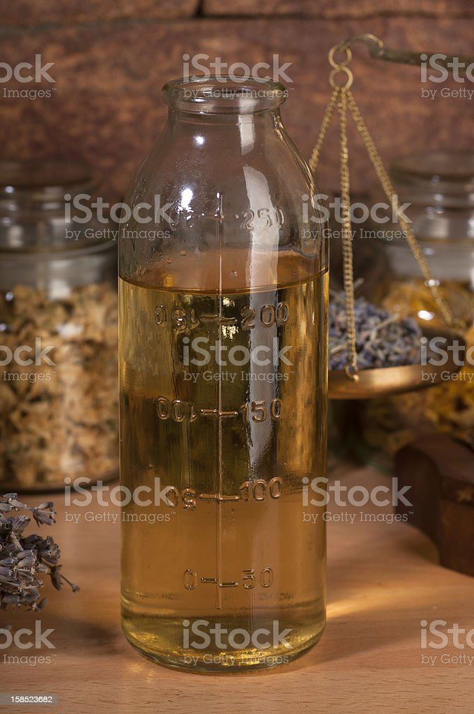 herbal mixture royalty-free stock photo