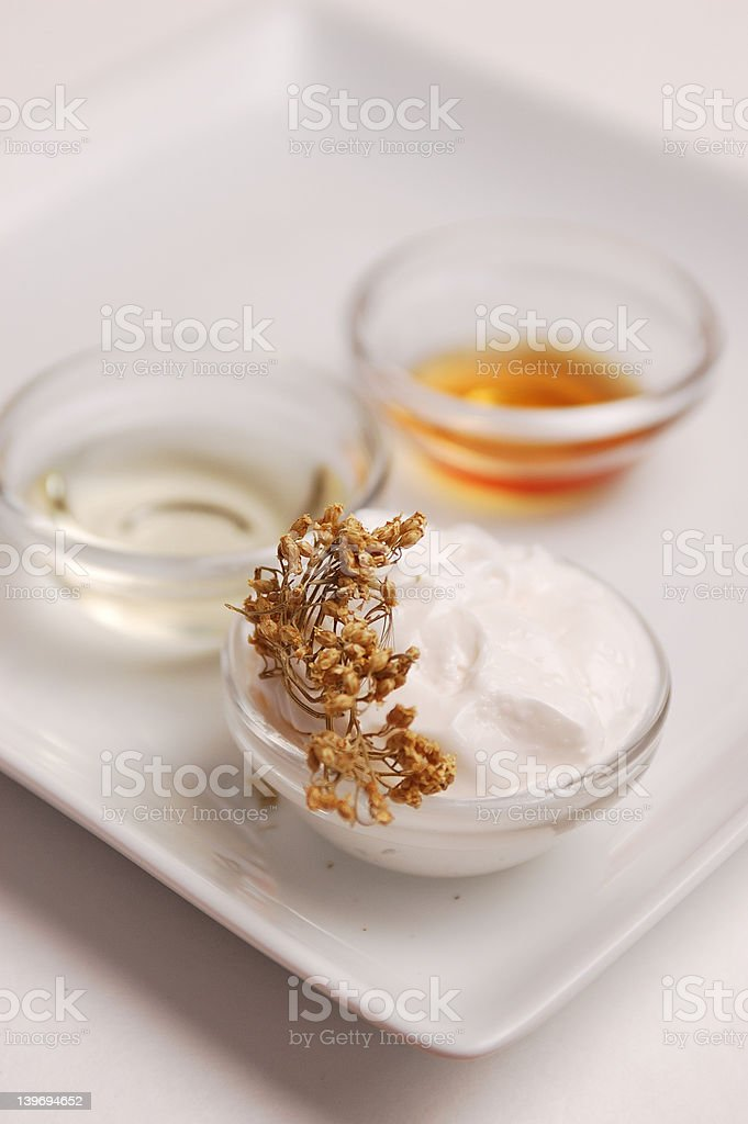Herbal Moisturizer royalty-free stock photo