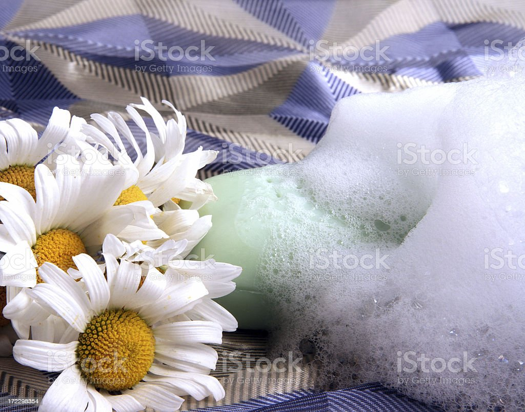 Herbal soap royalty-free stock photo