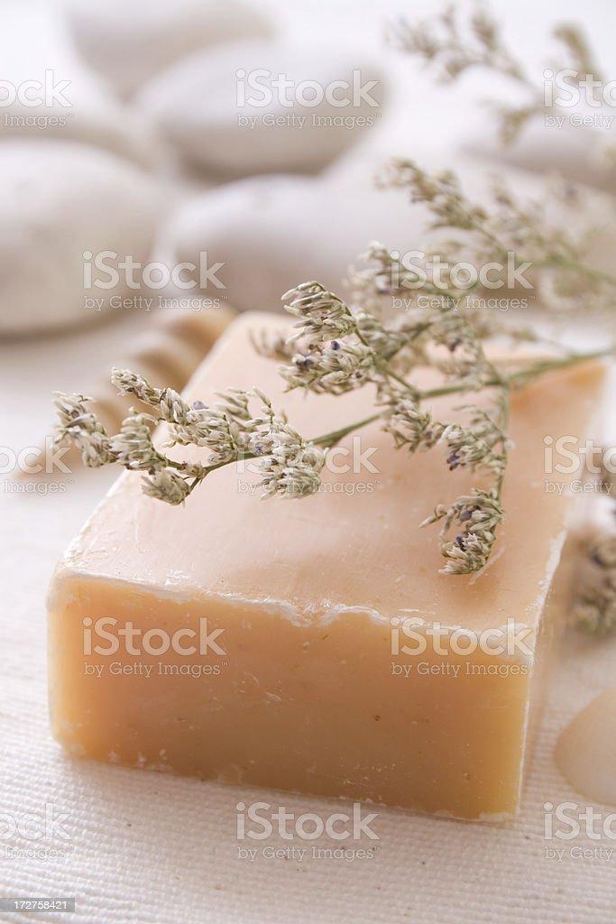 Herbal soap royalty-free stock photo