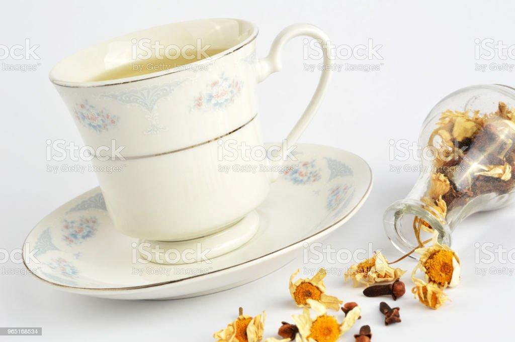 Herbal tea zbiór zdjęć royalty-free