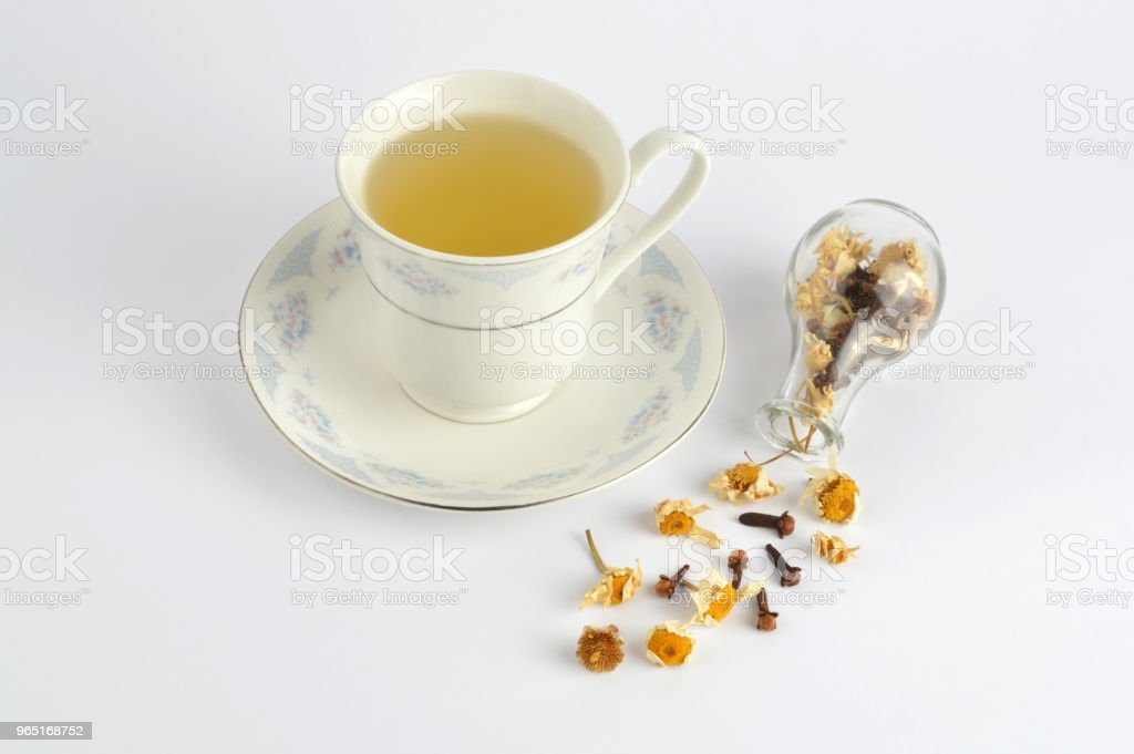 Herbal tea zbiór zdjęć royalty-free