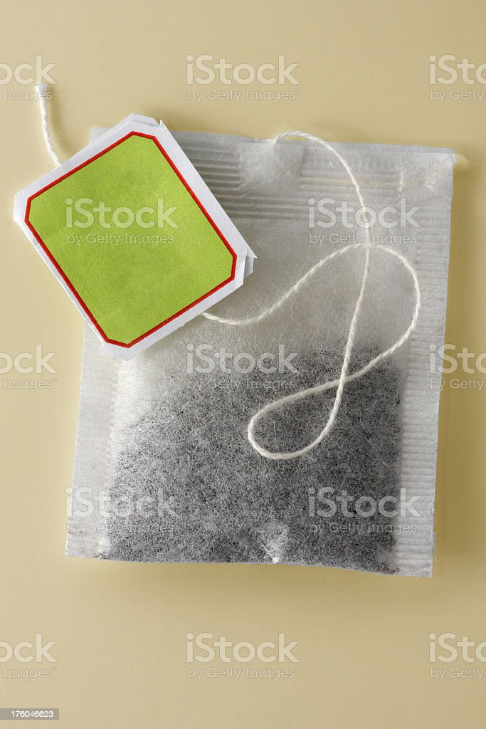 Herbal Teabag stock photo