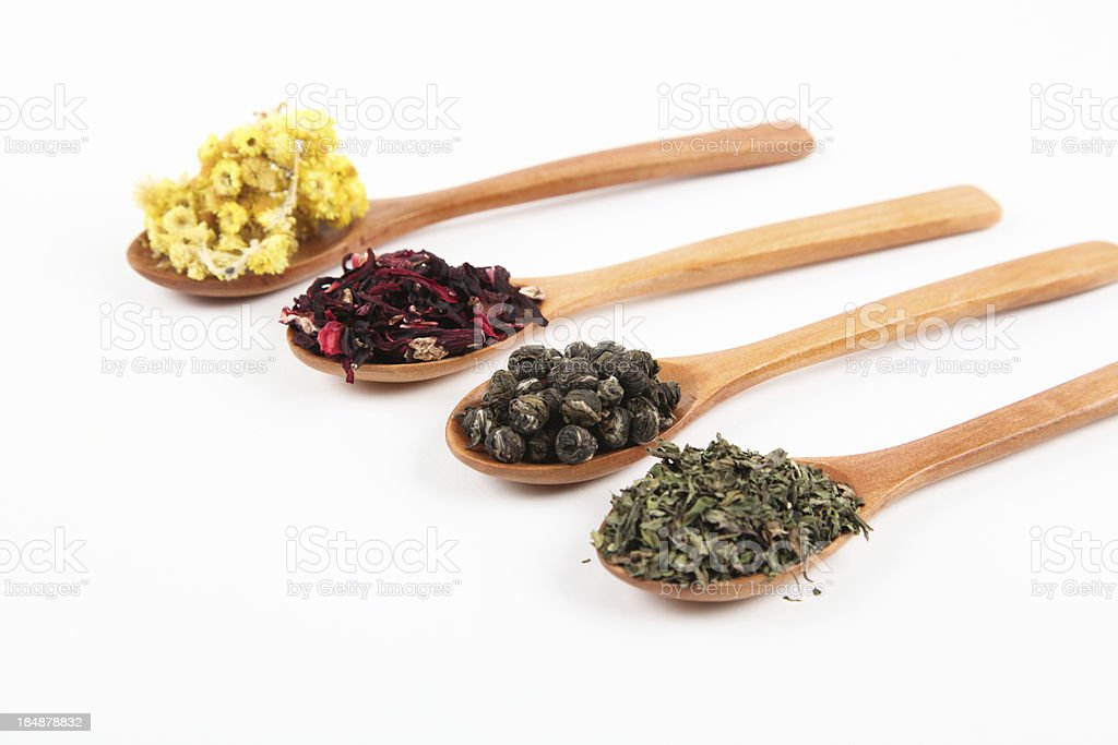 Herbal Teas royalty-free stock photo