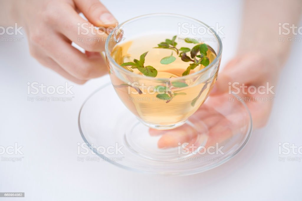 Herbal teas stock photo