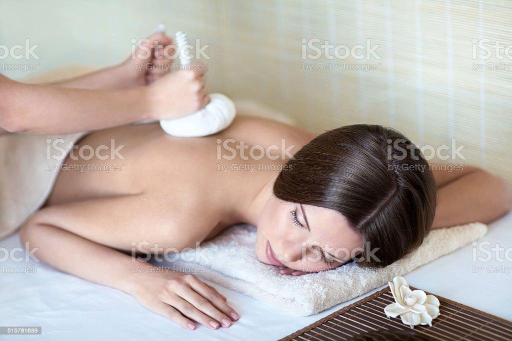 Herbal treatments stock photo