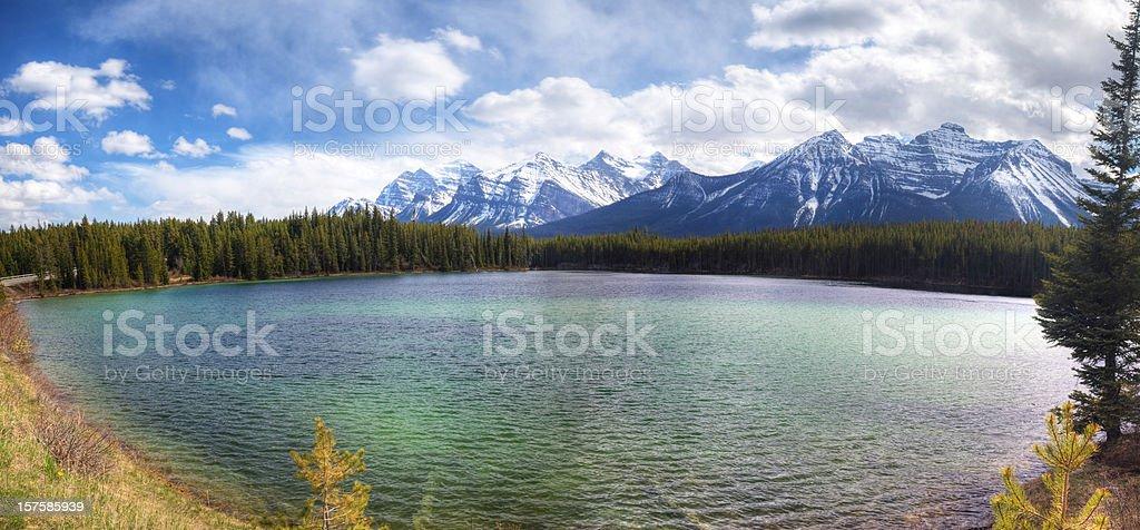 Herbert Lake royalty-free stock photo