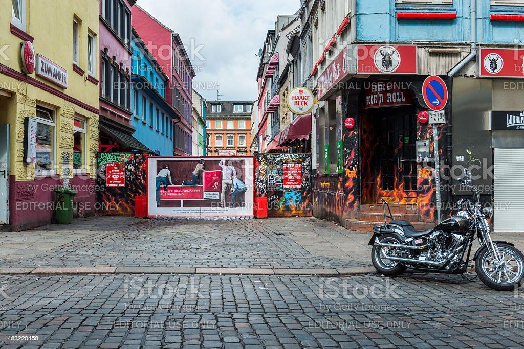 Herbertstrasse Hamburg Stockfoto und mehr Bilder von 2015