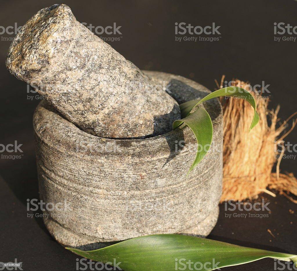 herbs and ayurveda royalty-free stock photo