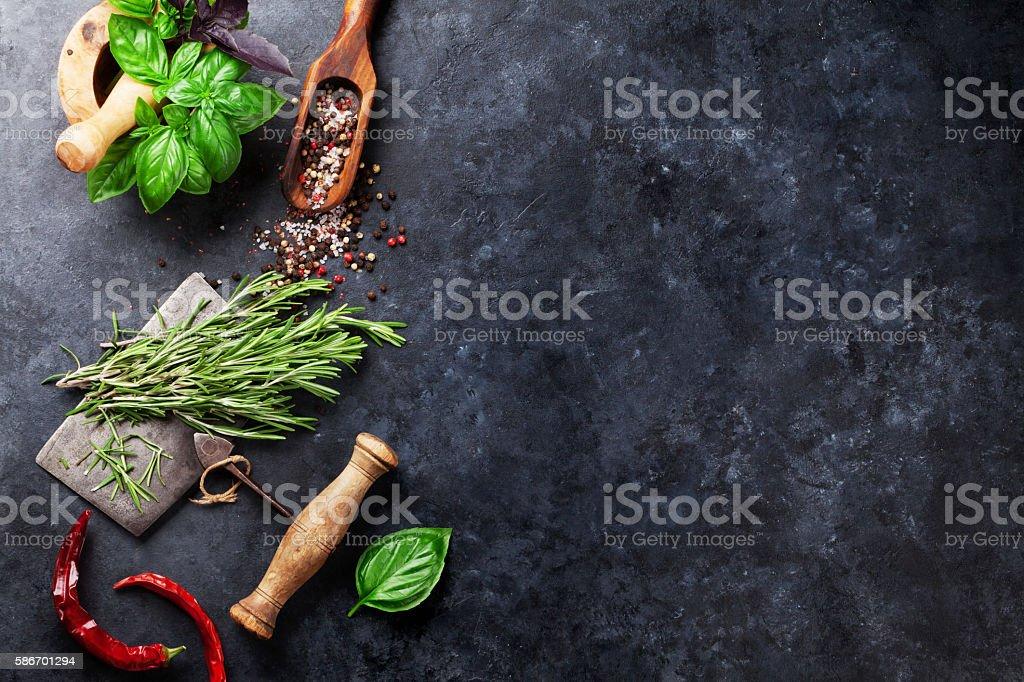 Herbes et des épices  - Photo