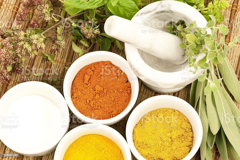 Herbs and Spices Series royalty-free stock photo