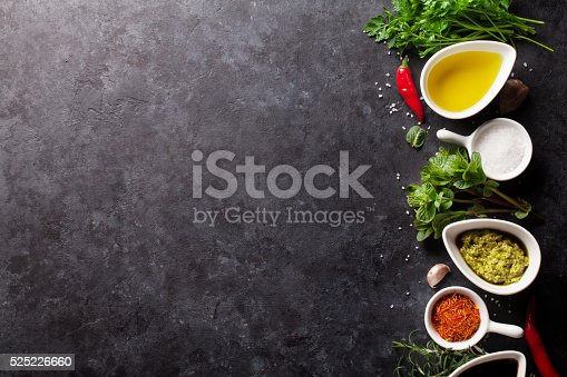 istock Herbs, condiments and spices 525226660