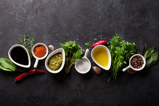 Herbs, condiments and spices