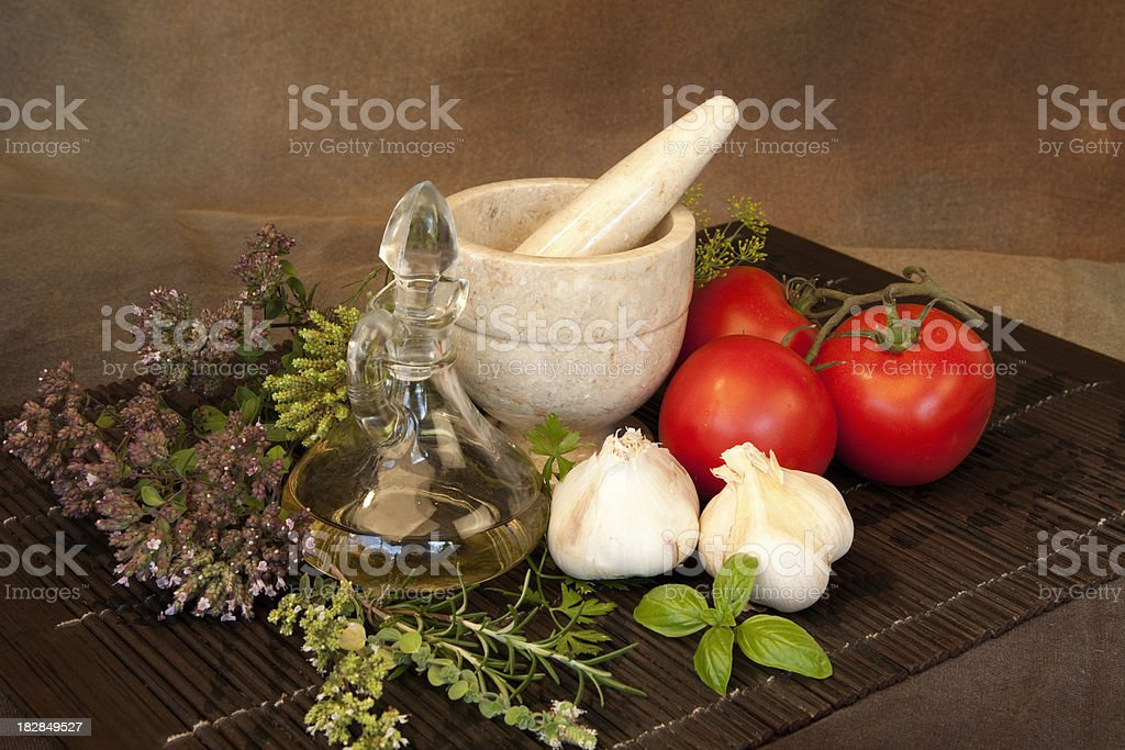Herbs Series royalty-free stock photo