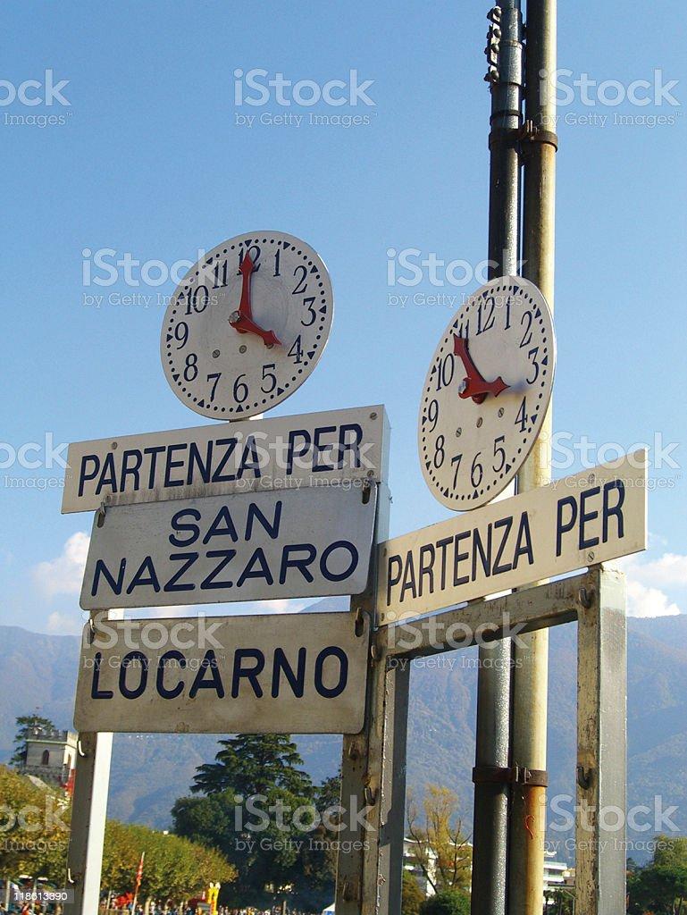Herbst in Ascona royalty-free stock photo